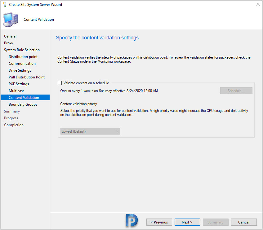 Enable ConfigMgr PXE on Windows 10