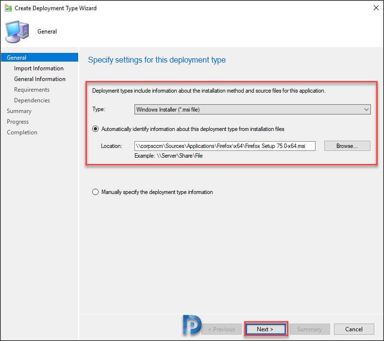 Add 64-bit Firefox Application in SCCM