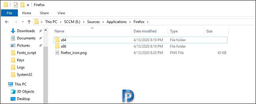 Deploy Firefox MSI Installer Using SCCM Snap2