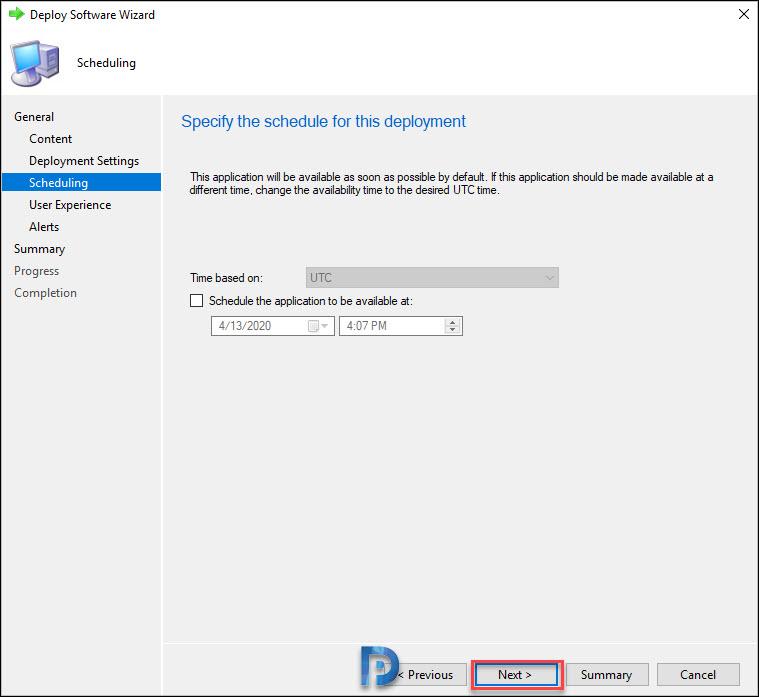 Deploy Firefox MSI Installer Using SCCM Snap28