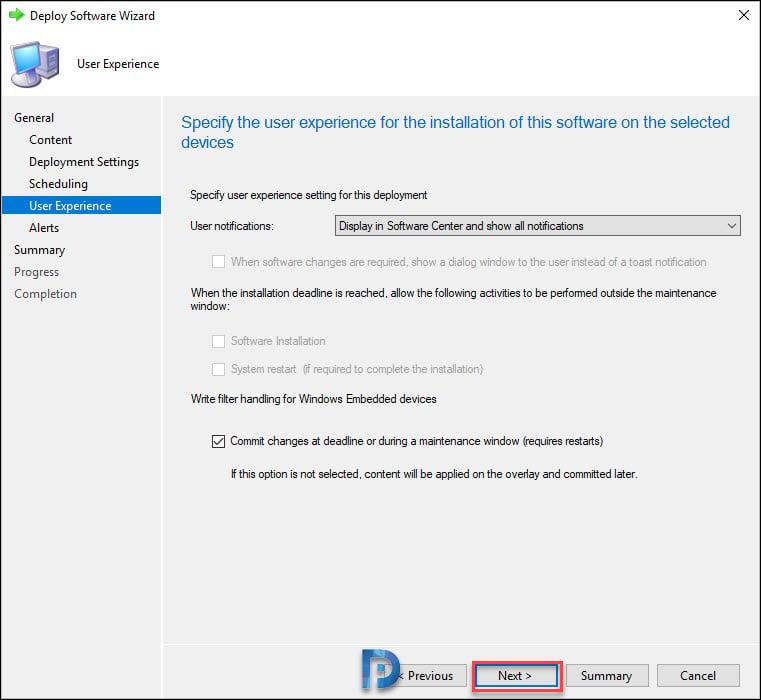 Deploy Firefox MSI Installer Using SCCM Snap29