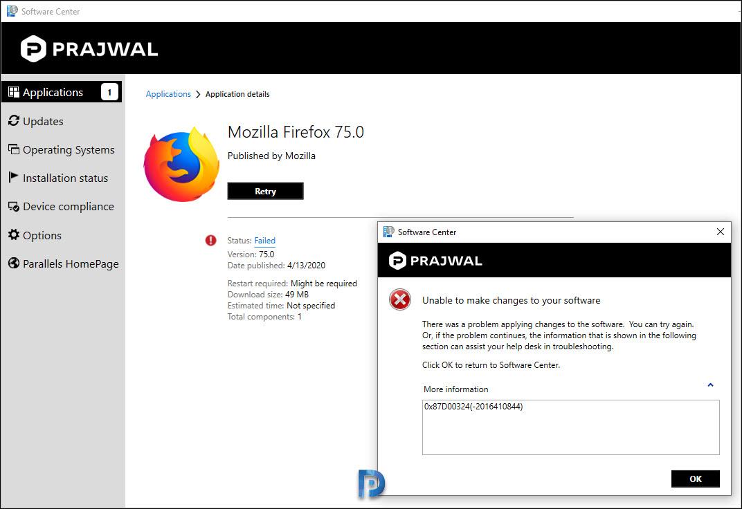 Deploy Firefox MSI Installer Using SCCM Snap32