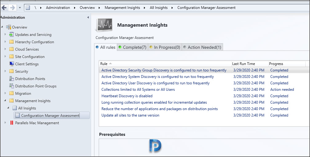 New SCCM 2002 Management Insight Rules