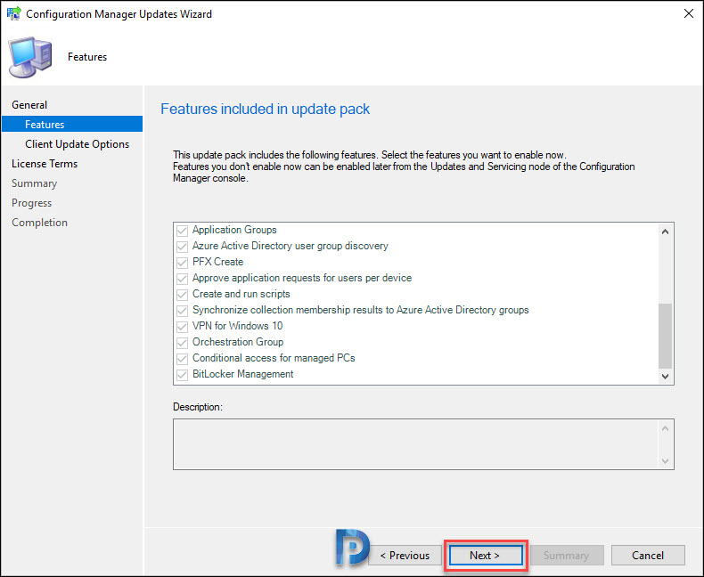 Whats New in SCCM Technical Preview 2003 Snap2