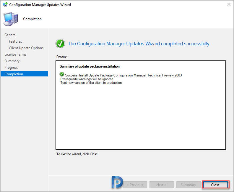 Whats New in SCCM Technical Preview 2003 Snap4