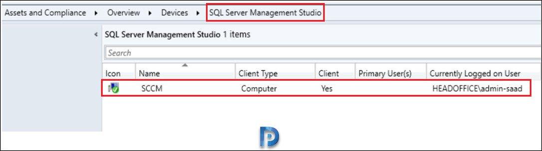 Deploy SQL Server Management Studio Updates using SCCM Snap19
