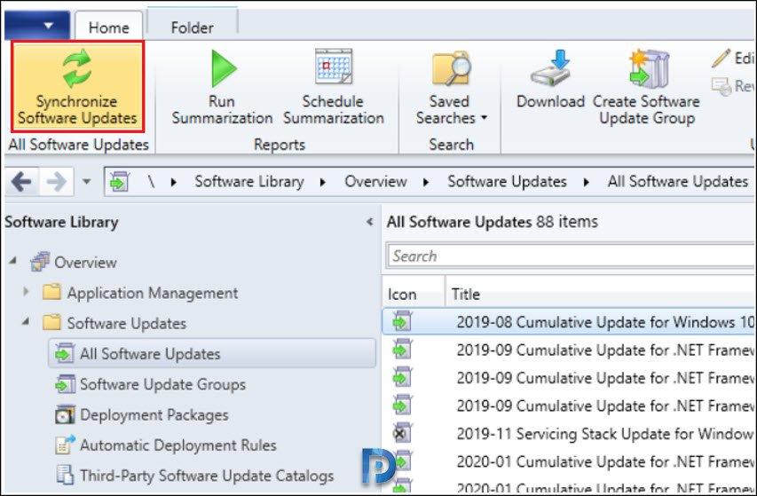 SCCM Software Updates