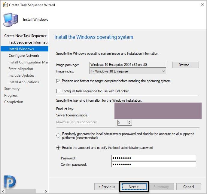 Windows 10 OS details