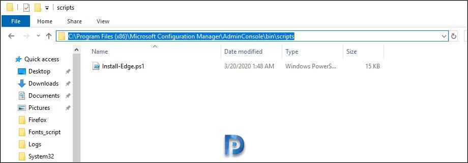 Microsoft Edge Application creation fails in SCCM Snap4