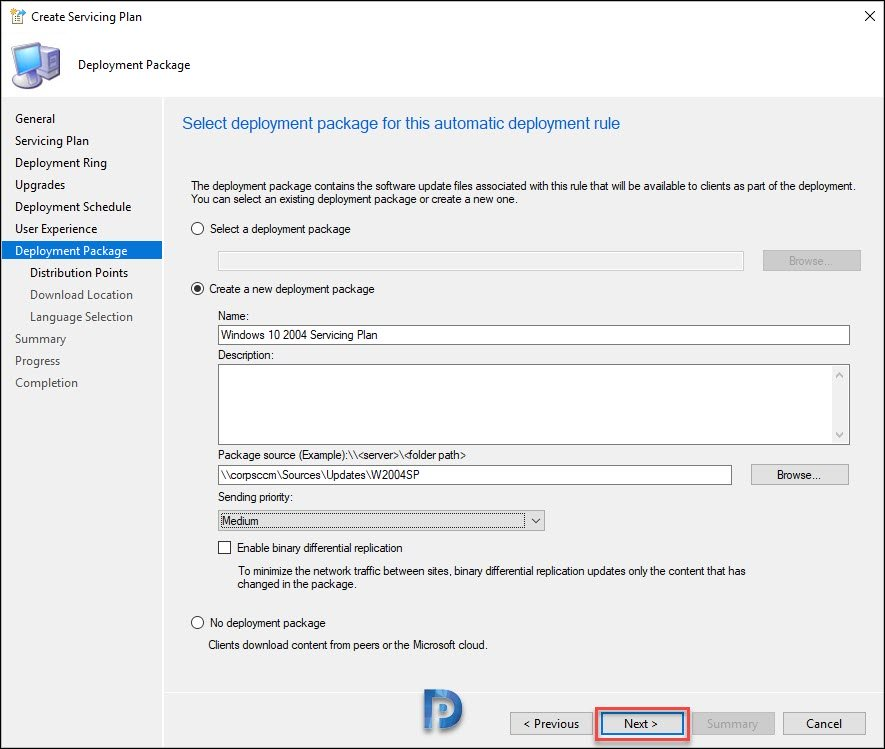 Create Windows 10 2004 Deployment Package