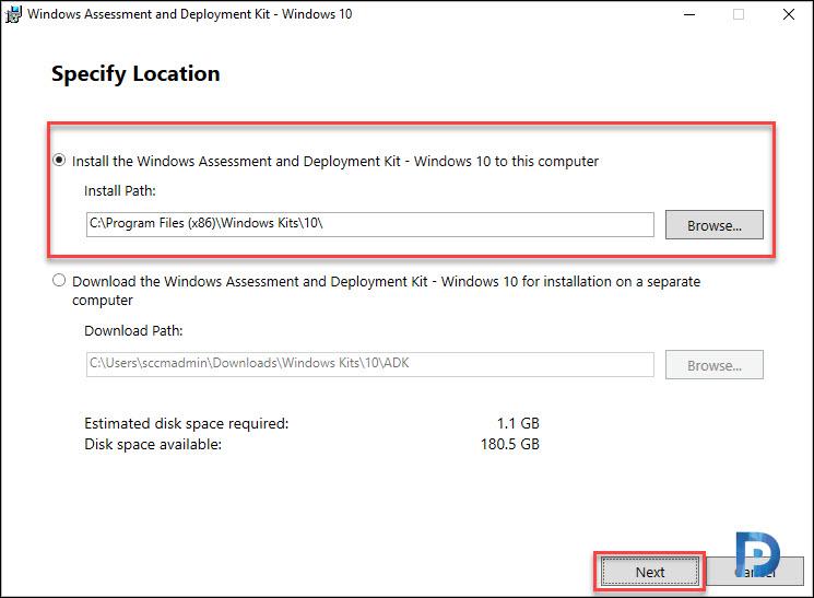 Install Windows ADK 2004