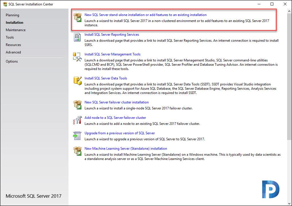 Install SQL Server 2017 for SCCM 2002