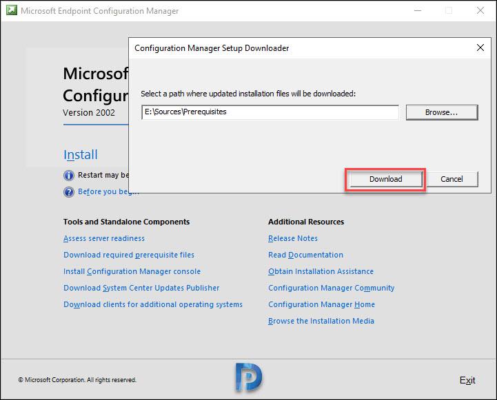 Download Configuration Manager 2002 Setup Prerequisites