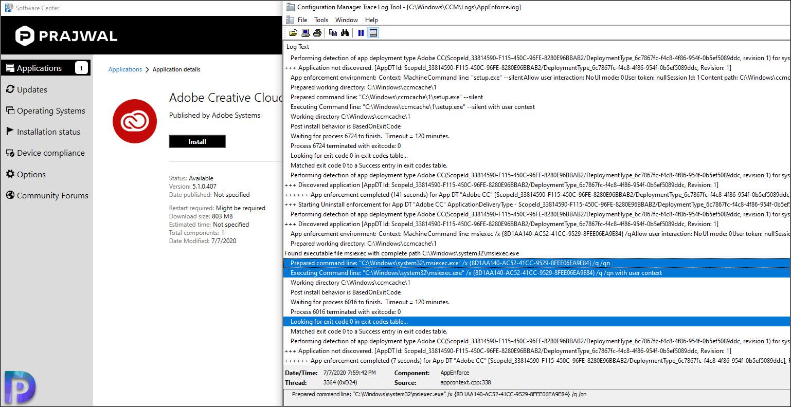 Adobe Creative Cloud App uninstall