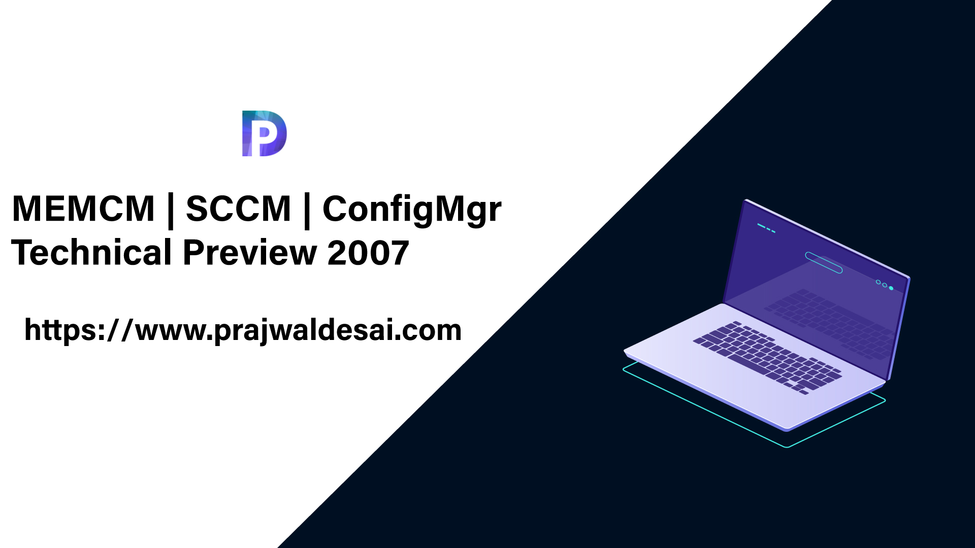MEMCM ConfigMgr Technical Preview 2007