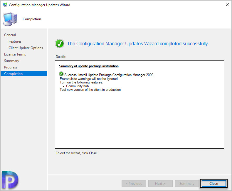 Step by Step SCCM 2006 Upgrade Guide Snap13