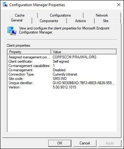 ConfigMgr 2006 Client Version Details
