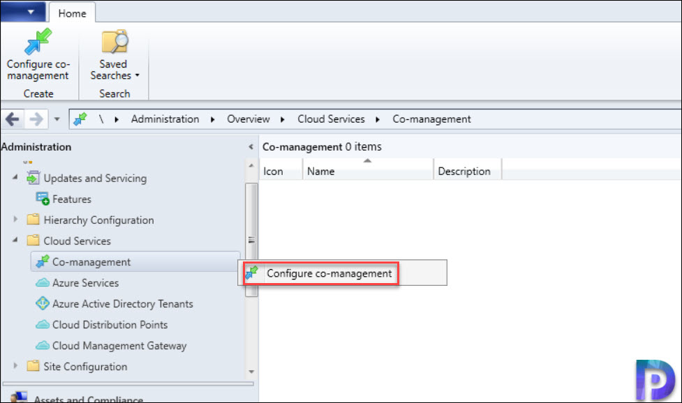 Configure co-management wizard to enable device upload