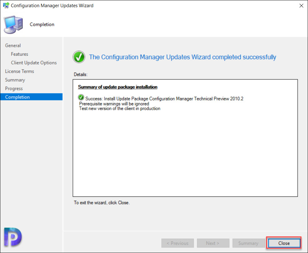 Install SCCM Technical Preview 2010.2