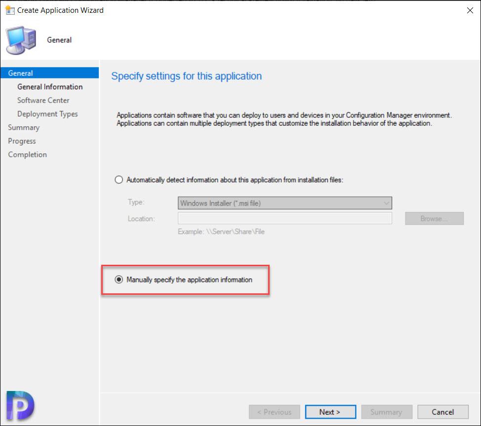 Create VMWare Workstation Application using SCCM