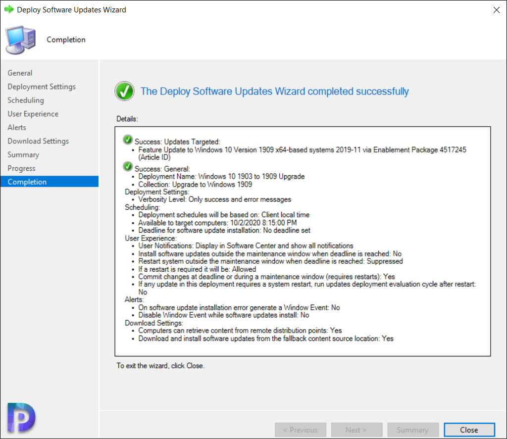 Windows 10 1909 Enablement Package