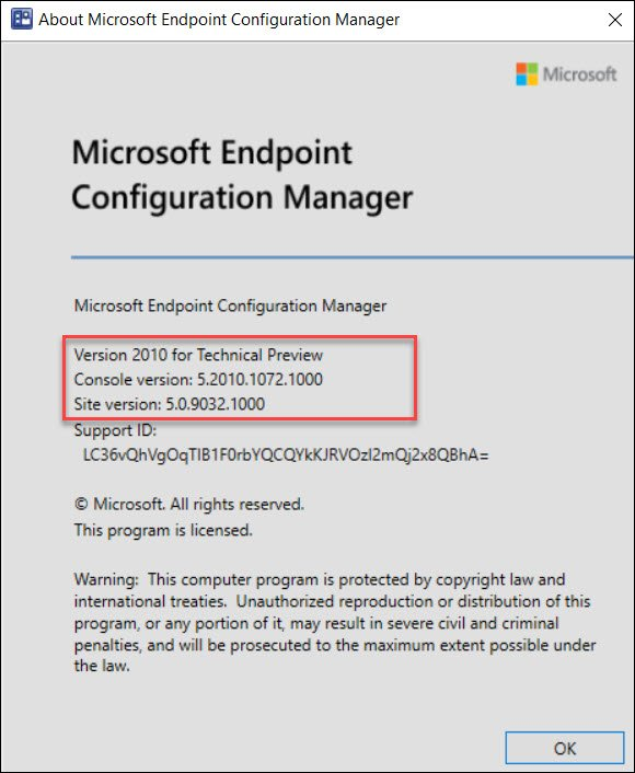 About ConfigMgr Technical Preview 2010