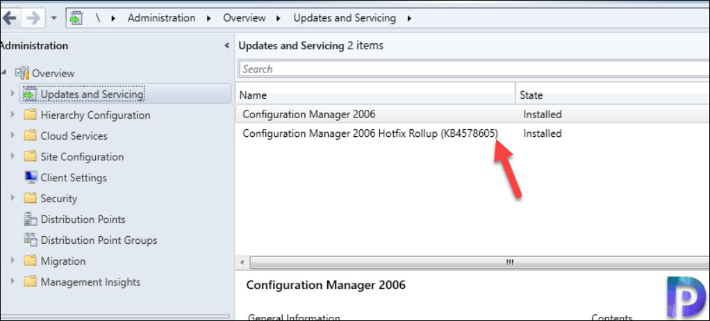 SCCM 2006 update rollup KB4578605