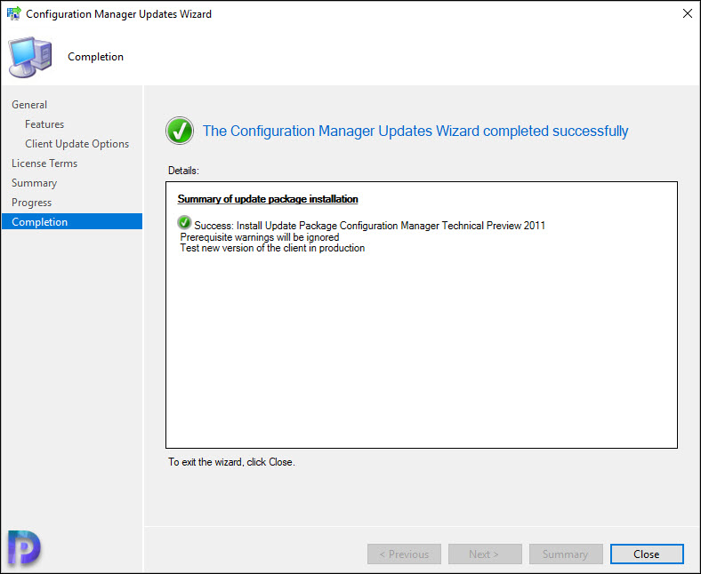 Install SCCM Technical Preview 2011