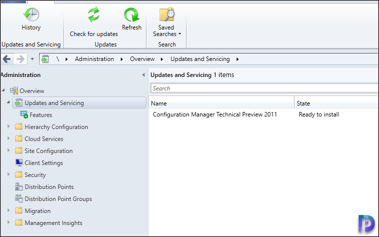 Install Technical Preview Updates