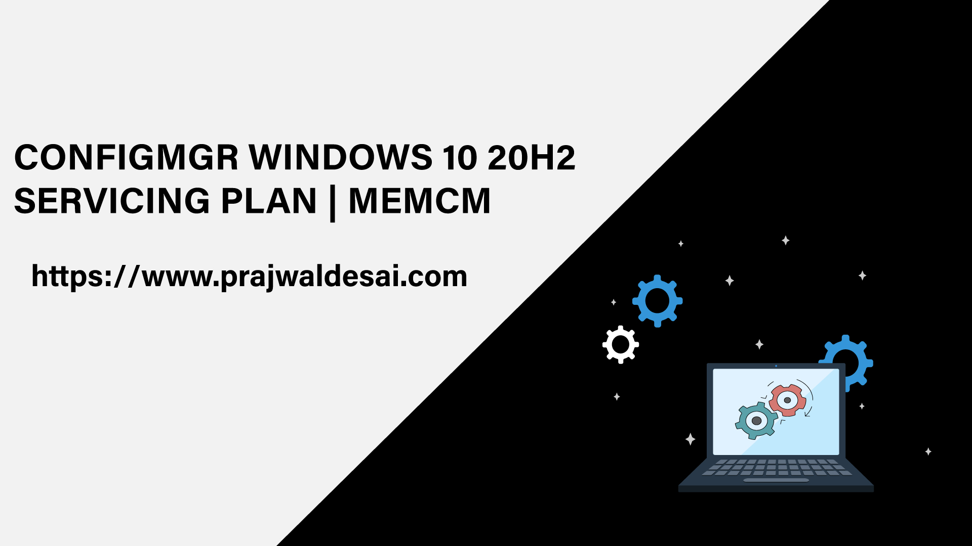 ConfigMgr Windows 10 20H2 Servicing Plan