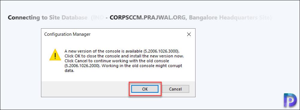 Console Upgrade