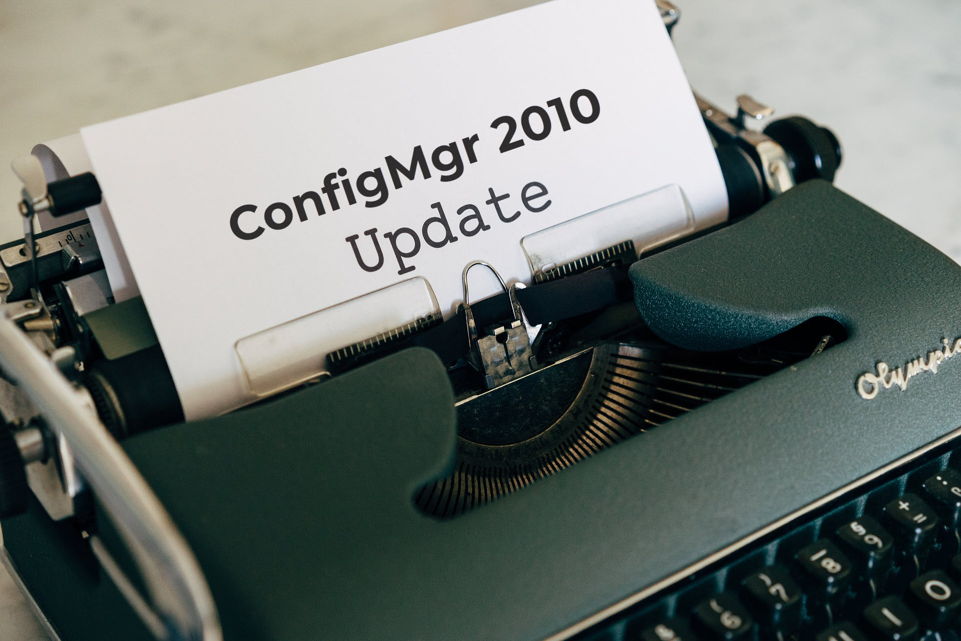 Configuration Manager 2010 Generally Available