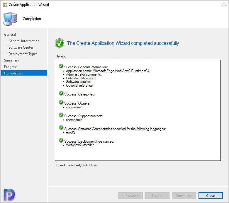 Deploy Microsoft Edge WebView2 Using ConfigMgr