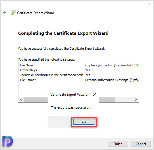 Create Certificate for Boot Media