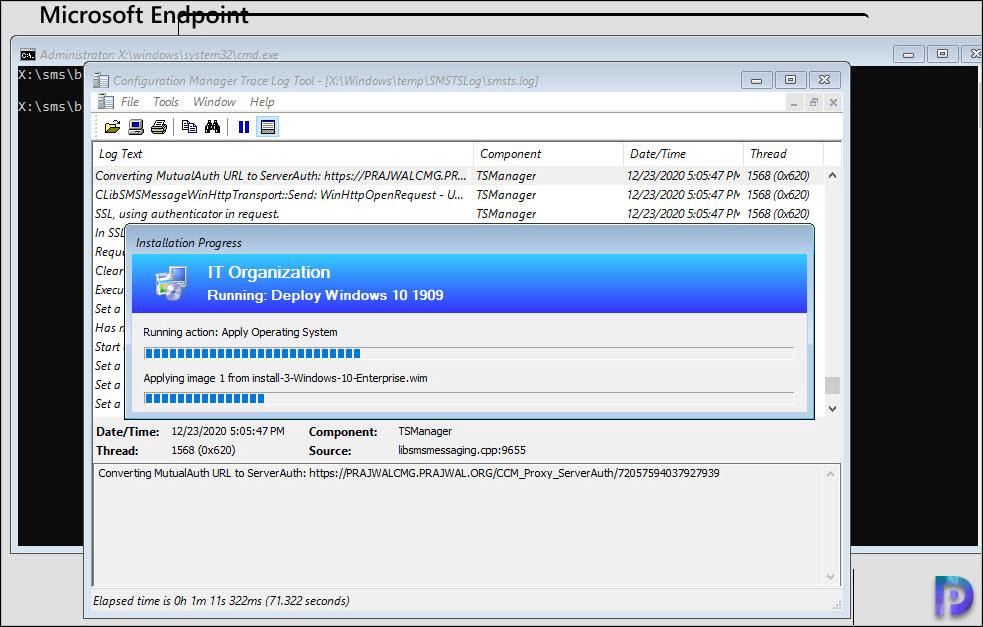 Deploy Task Sequence over Internet via SCCM CMG