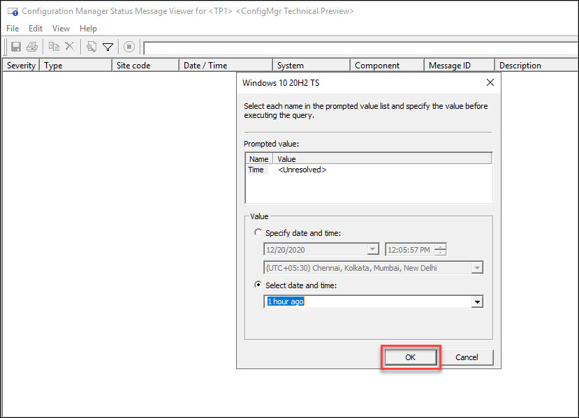 Monitor SCCM Task Sequence with Status Message Query