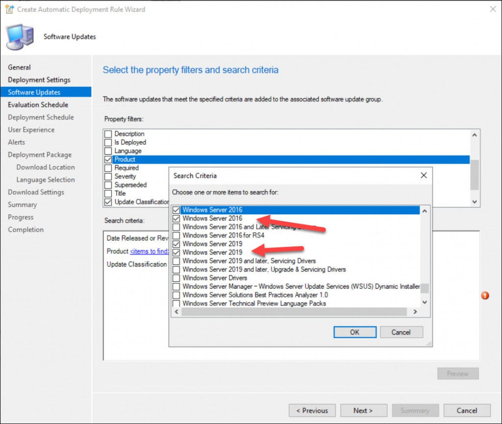 ConfigMgr SUP Shows Duplicate Product Entries