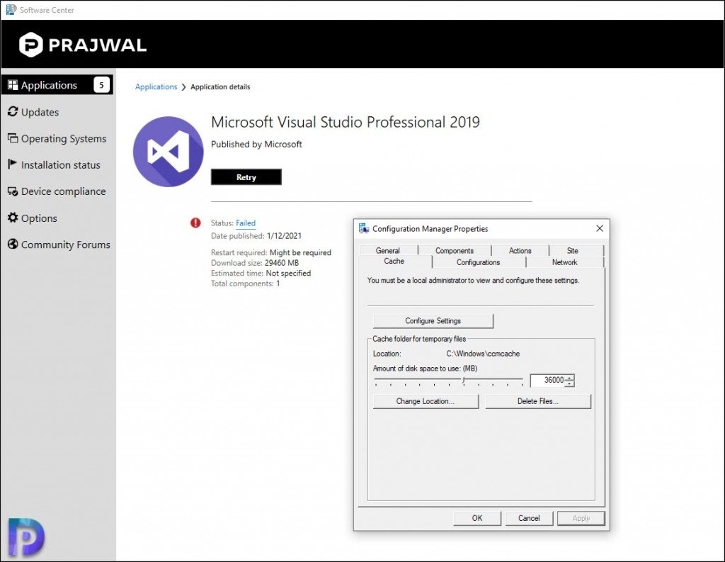 Install Visual Studio 2019