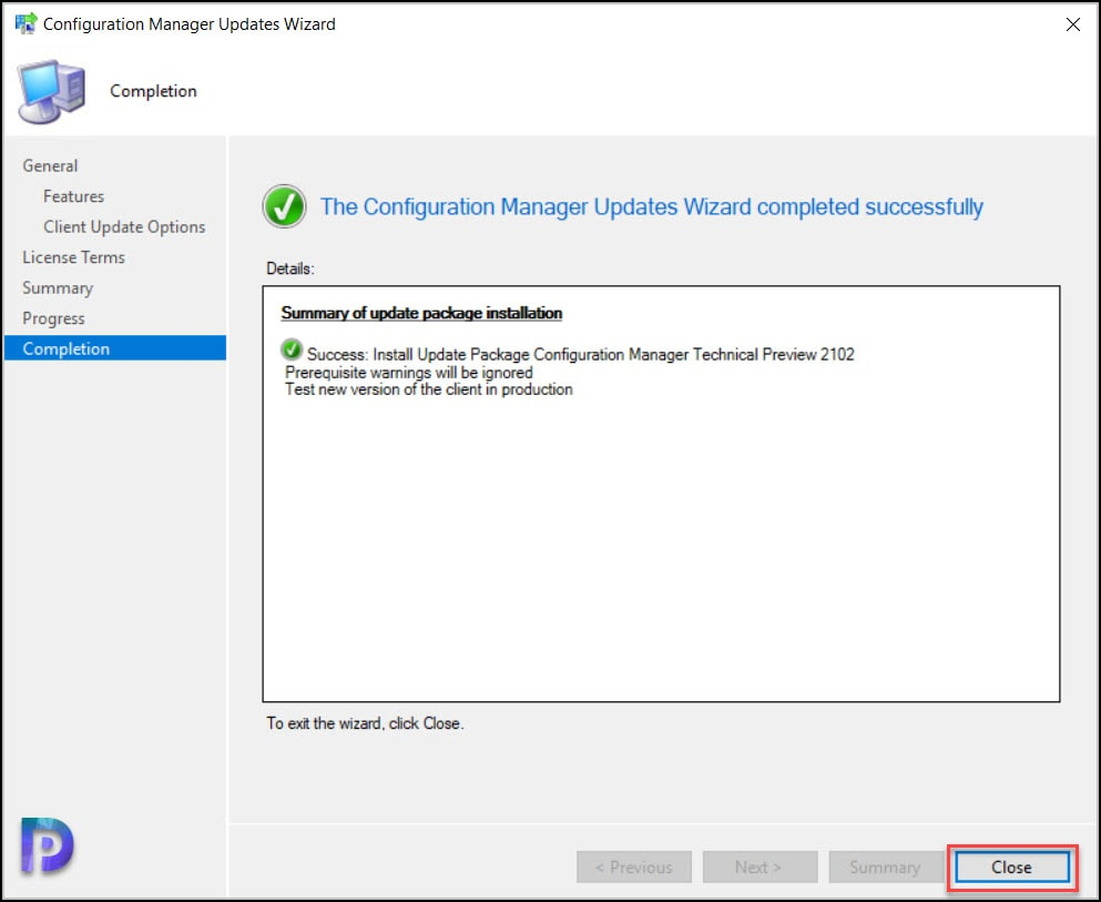 Install SCCM Technical Preview 2102