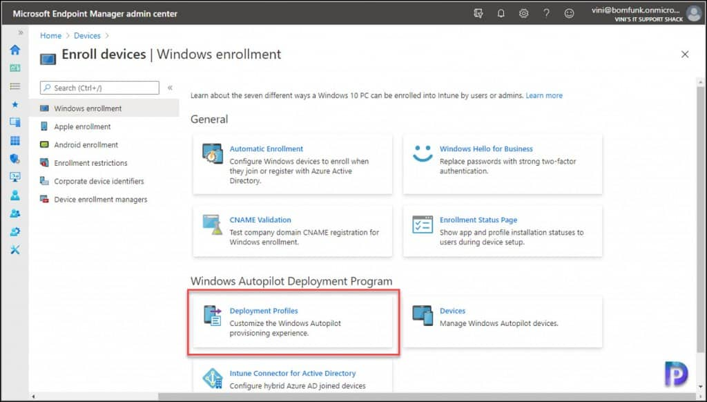 Windows Autopilot Deployment Program