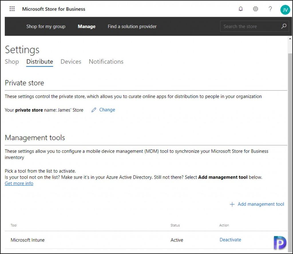 Activate Microsoft Intune
