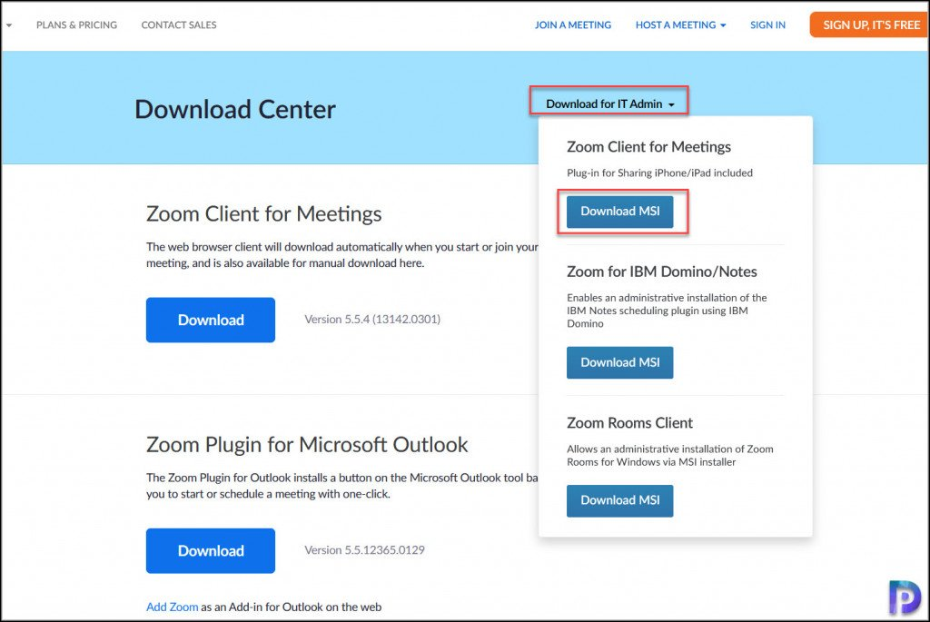 Download Zoom Client for Meetings