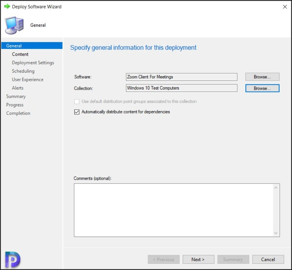 Deploy Zoom Client Using ConfigMgr