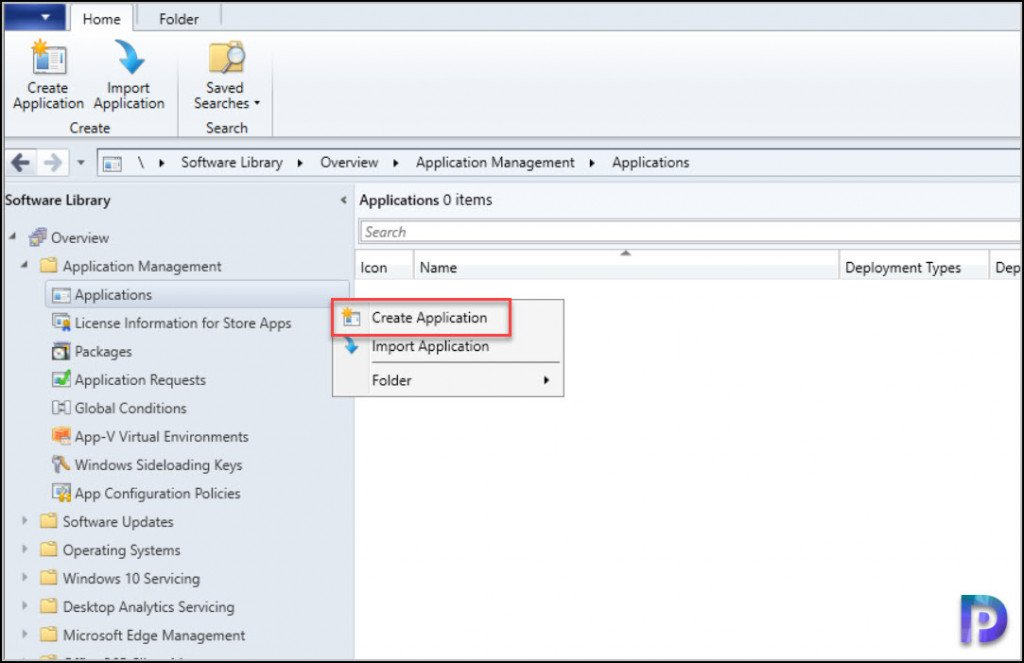 Create Zoom Application in ConfigMgr