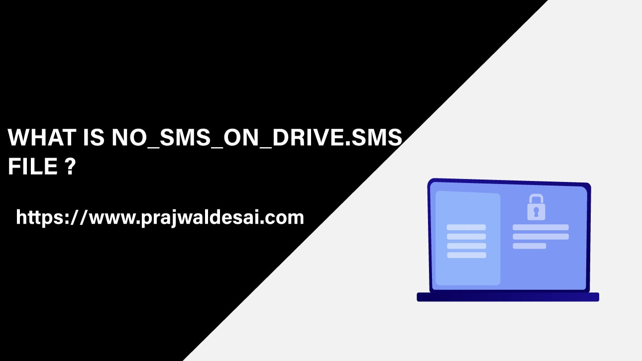NO SMS ON DRIVE SMS File