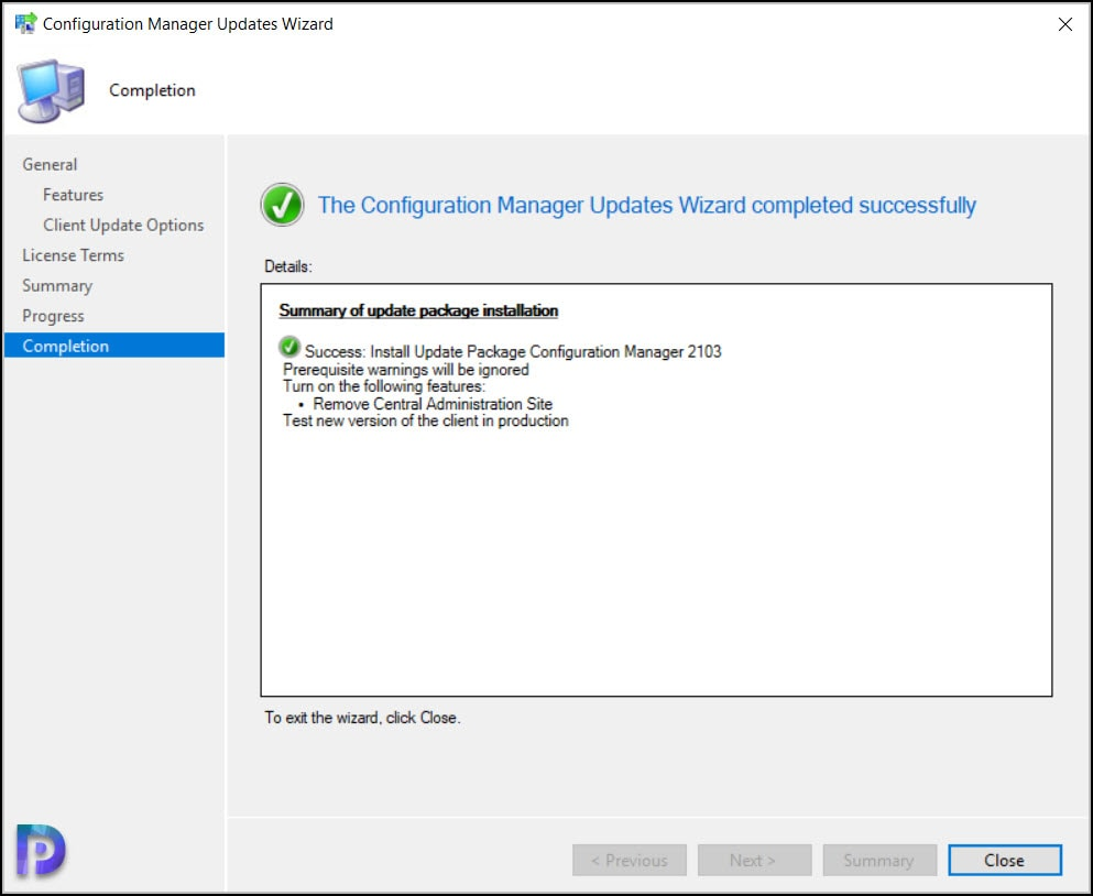 Configuration Manager 2103 Update