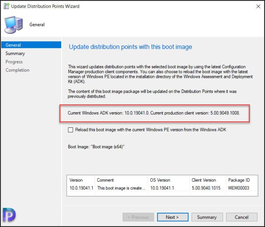 Update Configuration Manager 2103 Boot Images
