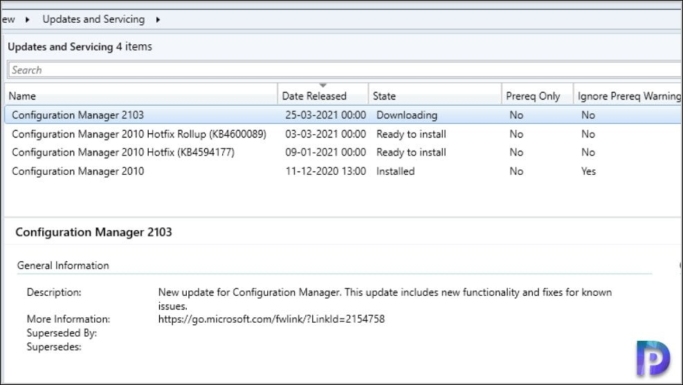 Install Configuration Manager 2010 Hotfixes or Skip