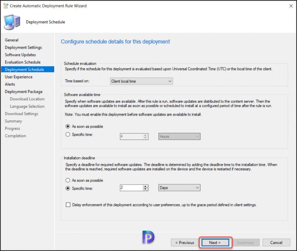 Visual Studio Updates Deployment Schedule