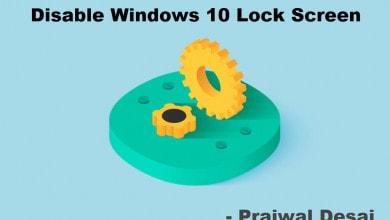 Disable Windows 10 lock screen